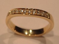 Pave set Diamonds