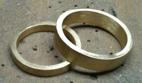 Rings in the making