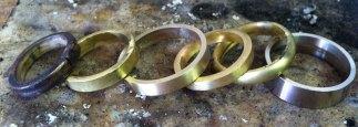 Wedding Rings in Progress