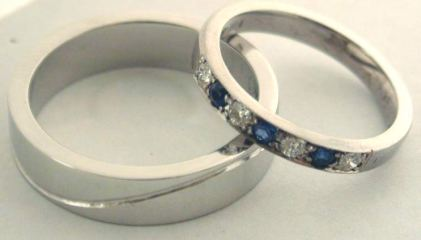 Beautiful blue Sapphires