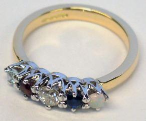 Family birthstone Ring