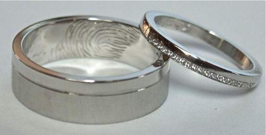 Palladium & Platinum Wedding Rings
