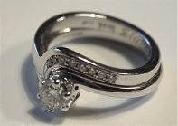 Made to fit wedding ring