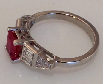 Deep Red Ruby