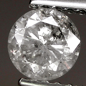 Diamond with multiple inclusions